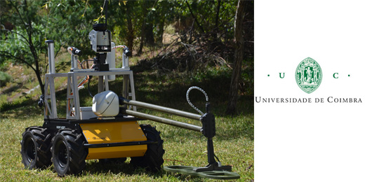 Robot Used for Lifesaving Humanitarian Research in Minesweeping
