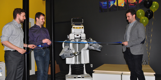 Clearpath's Robot Ribbon Cutting