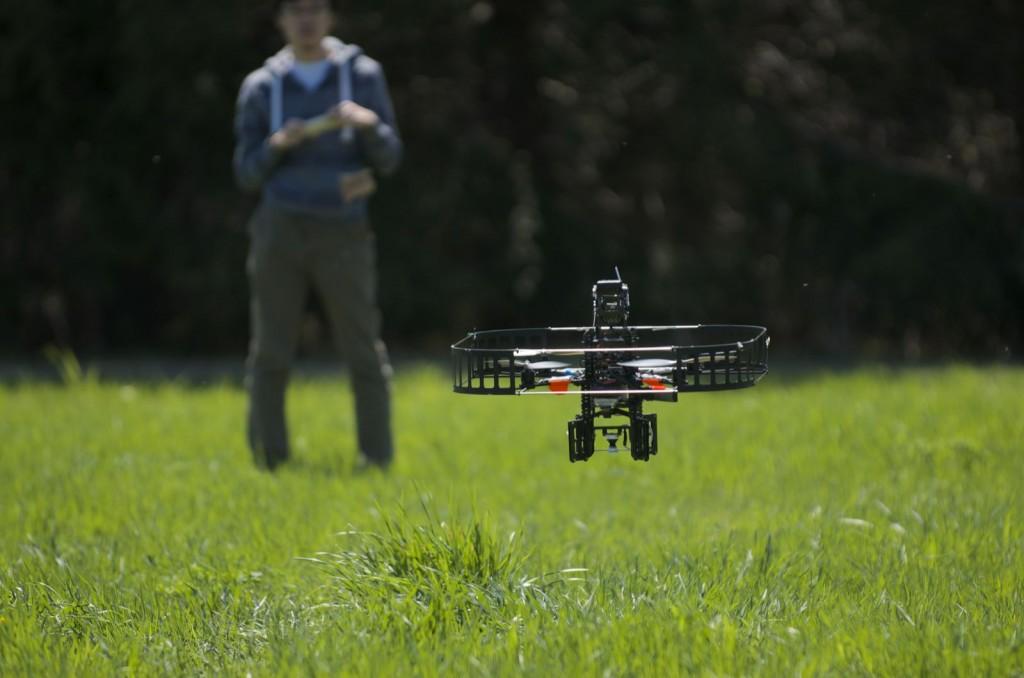 Pelican UAV outdoor research aiir vehicle