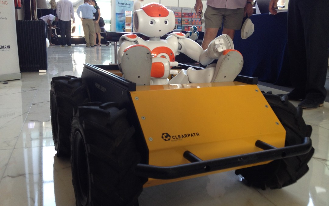 Clearpath Robotics Attends ICRA 2012