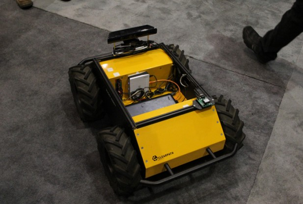 Clearpath Robotics Attending AUVSI 2012