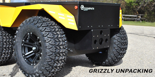 How To: Unpack Grizzly Robotic Utility Vehicle