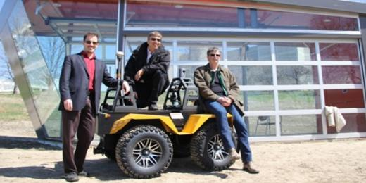 NCFRN Field Trials Unite Leading-Edge Canadian Robotics Researchers