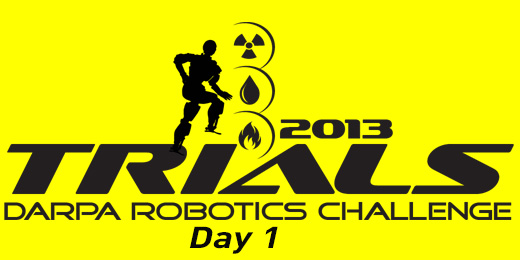 2013 DRC Trials: Day 1