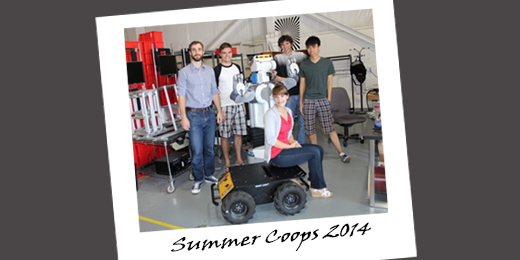 From Books to Bots: 2014 Summer Term Coop