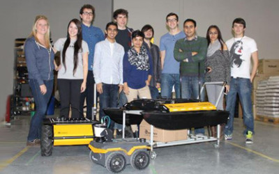 From Books to Bots: 2014 Fall Term Robotics Coop