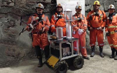 Robots Explore Dangerous Mines with Novel Sensor Fusion Technology
