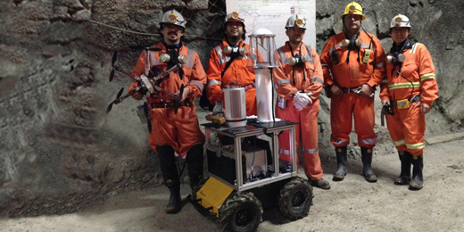Robots Explore Dangerous Mines with Novel Sensor Fusion Technology