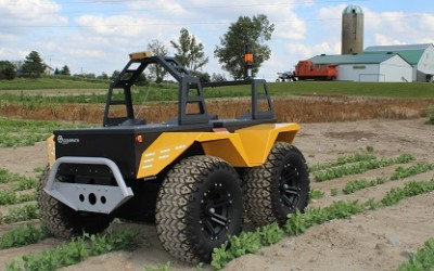 AgBot 2016 Powers $50,000 Grant for Grizzly RUV