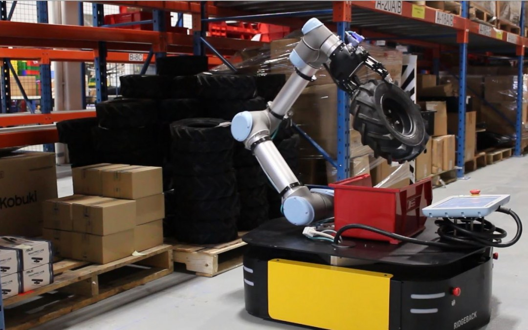 Making Collaborative Robots Mobile – by SICK