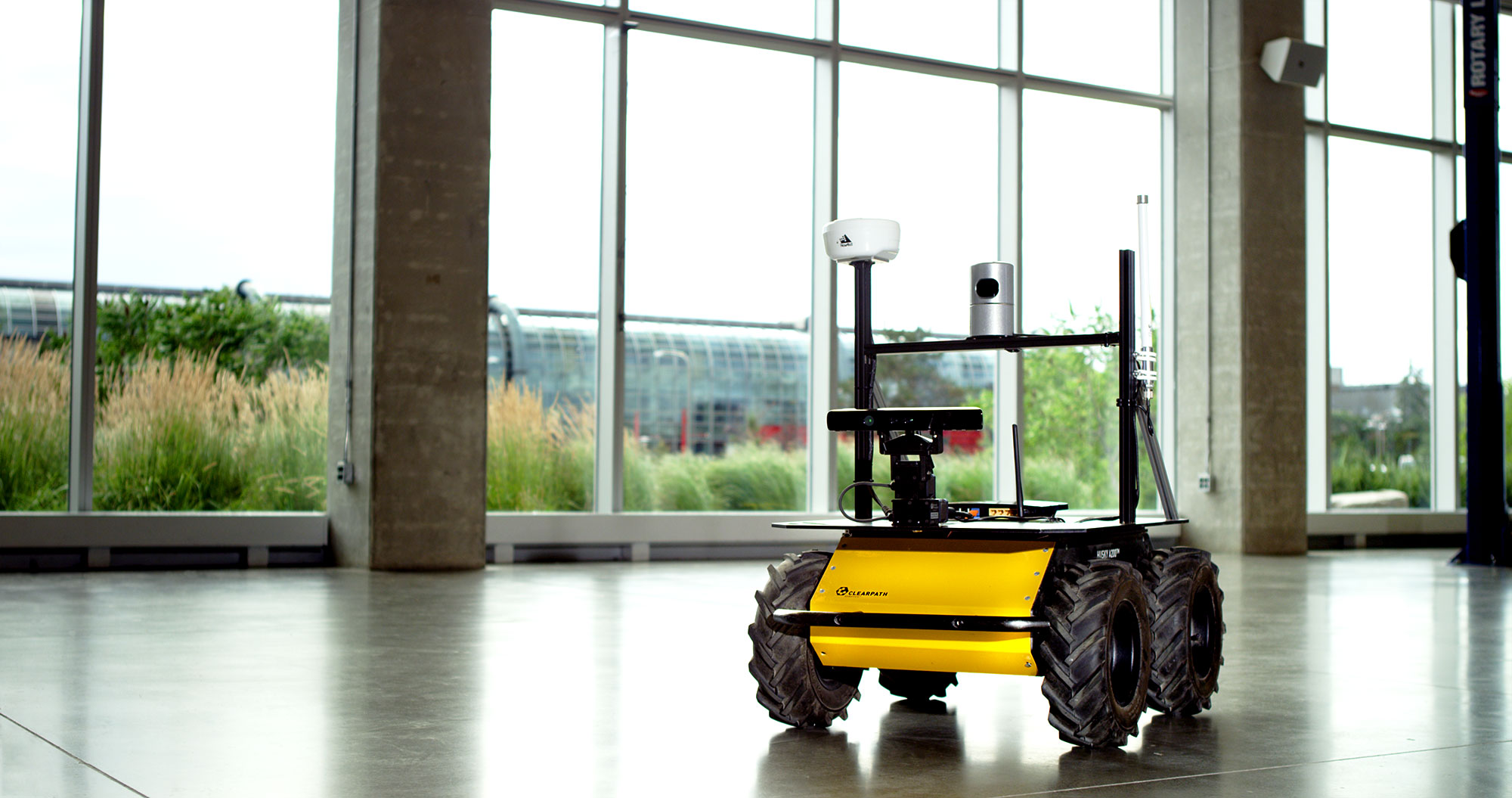 Husky Ugv Outdoor Field Research Robot By Clearpath Wiring Diagram Easy Simple Routing Starter Relay With Sick Lidar