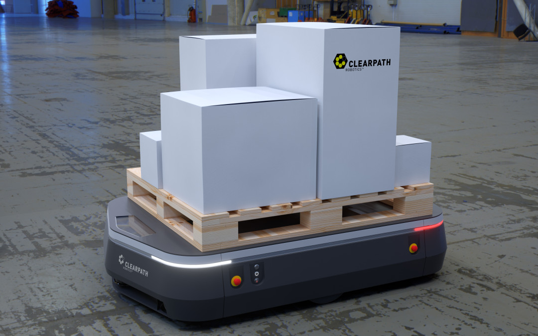 Introducing OTTO:  The World's First Self-Driving Vehicle for Intralogistics