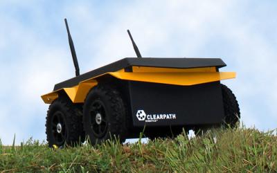 Jackal UGV Test Drives Robotic Systems Toolbox Algorithms