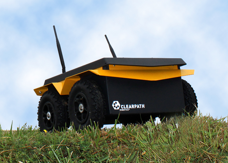 Jackal UGV Test Drives Robotic Systems Toolbox Algorithms
